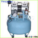 compresor de aire de Uno-Conducción-Uno dental de 30L Oilless