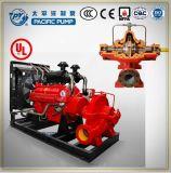 Дизельный двигатель горизонтального центробежный пожарный насос