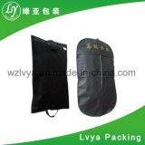 Couverture pliable faite sur commande en gros de procès de vêtement de sac de cintre de robe de vêtement