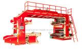 기계를 인쇄하는 기계 부대 Flexo를 인쇄하는 직업적인 플레스틱 필름 HDPE Flexo