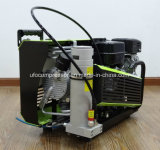 compresor de aire de alta presión del salto de Scba del equipo de submarinismo de la gasolina 300bar
