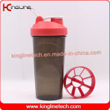 25oz/700ml protein shaker bottle with plastic sieve (KL-7033D)