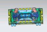 Части подвергая механической обработке чертежа автозапчастей фабрики Китая прессформа изготовленный на заказ пластичная