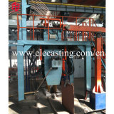 La tige de cuivre vers le haut Ligne de production de la machine de coulée continue