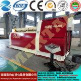Laminatoio idraulico, macchina piegatubi del piatto dei 4 rulli