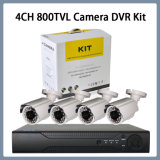 4CH Uitrusting van de Camera DVR van IRL van de Veiligheid van kabeltelevisie van de 800tvlKogel de Digitale