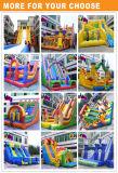 2017子供および大人のための最も売れ行きの良く膨脹可能な警備員のスライドの膨脹可能な跳躍の城