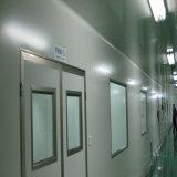 Двери чистой комнаты с краем нержавеющей стали