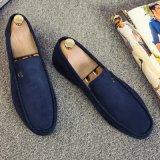De zachte Schoen van de Leeglopers van de Manier van Mocassins voor Schoen de Van uitstekende kwaliteit van de Vlakten van de Mens van de Schoenen van het Leer van Mensen
