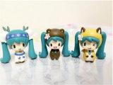 Speelgoed van Doll van de Ornamenten van het Cijfer Anime van de Mascotte ICTI het Kostuum Aangepaste Plastic