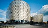 facciate arieggiate contrassegno architettonico composito di alluminio del soffitto del baldacchino dei comitati delle facciate dei sistemi della parete del comitato di 5mm