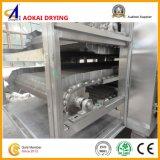 다중층 감자 구획 건조용 기계