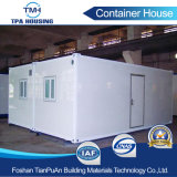 容易組立て式に作られた容器の家20フィートの建築現場のインストールしなさい