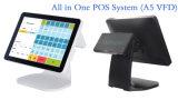 """15 """" POS van het Verkooppunt Terminal met Capacitieve Touchscreen van 10 Punt"""