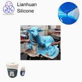 Aplicación de Lianhuan RTV-2 M30 para hacer el molde para las estatuas de la natividad
