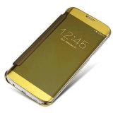 Аргументы за Samsung S8 зеркала франтовского взгляда Flip тонкого гальванизируя
