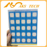 Supervisión da alta temperatura del color del papel termal auto-adhesivo del cambio