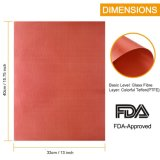 Неприлипающий No-Toxic пищевой категории Teflon коврик для выпечки