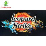 Do entalhe video da tabela de jogo dos peixes de jogos da arcada do caçador da batida do leopardo máquina de jogo