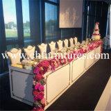 ロータス背部食堂の家具の金のステンレス鋼の金属のイベントの椅子(YC-ZS52)