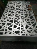 Grabado de aluminio decorativo Panel de patrones de metal
