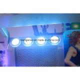 Het muntstuk stelde de Trommel van de Arcade en de Machine van het Spel van de Muziek van de Machine van het Spel van het Centrum van de Dans in werking