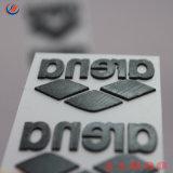 Пользовательский экран Печать 3D-толстый силиконового каучука передача тепла этикетки Этикетки Memory Stick™