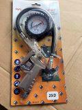Luft-Gummireifen-Druckanzeiger-Gummireifen-Luftpumpe-Anzeigeinstrument mit Klemme