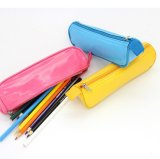 Просто мешок карандаша PU типа с с верхней частью застежки -молнии, мешком пер студентов