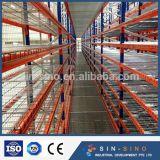 Estante resistente galvanizado del almacenaje del Decking del acoplamiento de alambre