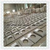 Partie supérieure du comptoir grise blanche Polished chinoise en gros de cuisine de granit de Pangdang pour des projets d'hôtel