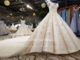 Aoliweiyaアラビアシャンペンの夜会服のウェディングドレス