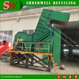 Concasseur de métal pour le recyclage des déchets de ferraille/baril du tambour/bande