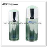 60ml frasco mal ventilado translúcido cosmético do pulverizador da loção PMMA
