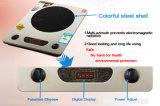 2200W sauf le cuiseur Cooktop d'admission d'énergie avec le rupteur d'allumage coloré d'interpréteur de commandes interactif d'acier inoxydable