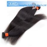 完全なクチクラのインドの人間の毛髪のよこ糸