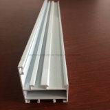 Quadrado, perfil redondo, diferente da extrusão da liga de alumínio para a porta e câmara de ar 118 do indicador