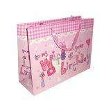 Custom дизайн печати CMYK рождественских подарков бумаги мешок (YH-PGB057)
