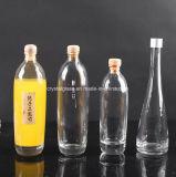 Qualitäts-quadratische Wein-Alkohol-Flaschen, Wein-Verpackungs-Flasche