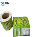Autocollant de couleur d'approvisionnement alimentaire de l'impression étiquette étanche de personnalisation de l'étiquette de fruits