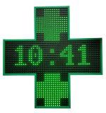 Visualizzazione trasversale impermeabile del segno della traversa della farmacia dello schermo LED del segno della visualizzazione LED della traversa della farmacia del LED per l'ospedale della farmacia della chiesa