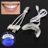 Mini-dente LED Beleza Whitener clareamento do dispositivo USB Accelorator Home Equipamentos da lâmpada de luz de branqueamento dos dentes