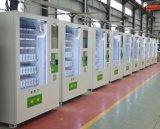 Npt 22polegadas tela publicidade máquina de venda automática de snacks e bebidas do sistema de controlo remoto