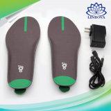 第3 GEN移動式APPのスマートな靴の中敷の熱靴底の女性の人を暖める冬のフィートのための無線リモート・コントロール電気暖房の靴の中敷