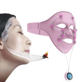 Il calore magnetico facciale di vibrazione SME del Massager 3D della mascherina del silicone nutrisce la Anti-Grinza costante U3 respirabile di massaggio della pelle di sollevamento di fronte