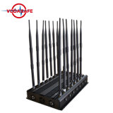 GSM Jammer/GPS /Cell van de Stoorzender de Stoorzender van de Telefoon, de Stoorzender van de Desktop voor GSM, CDMA 3G, 4G Cellphone, de Stoorzender van de Afstandsbediening 433/315MHz van de Auto met 14 Antennes