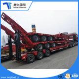 3 Eixos do veículo de carga do Utilitário de mesa Cama Baixa/scanner/Lowboy/Lowbed semi reboque
