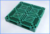 1100X1100mm volle Umkreis-Ineinander greifen-Oberflächen-Bereich-Ladeplatten-Gabelstapler-Laufkatze-Plastikladeplatte