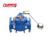 Type à embase en fonte ductile Petit réservoir d'eau soupape à flotteur à bille