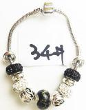 Armband Ref van de Charme DIY van vrouwen de Echte Zilveren Geplateerde Met de hand gemaakte: P 034